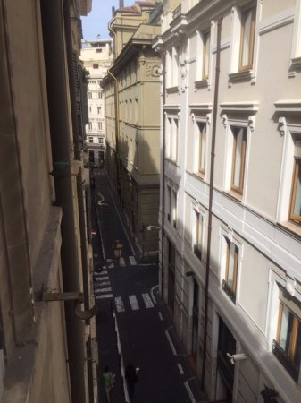 Daphne Trevi: View from the window in our room