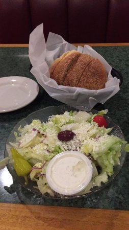 West Columbia, SC: Salad and Bread