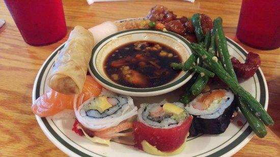 Concord, Nueva Hampshire: good sushi