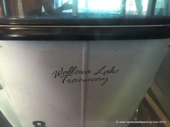 Wallowa Lake Tramway: The gondola