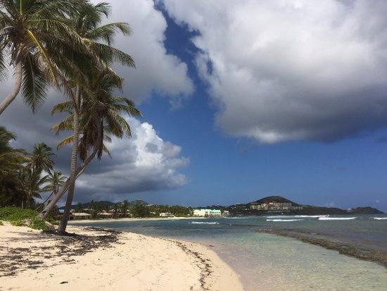 Christiansted, St. Croix: Pelican Cove Beach