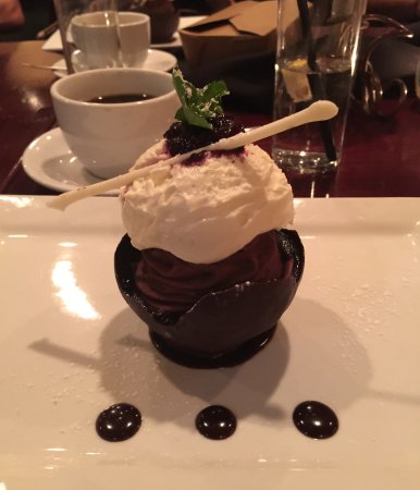 Jacksonville, OR: Divine dessert as beautiful as it is delicious and decadent.