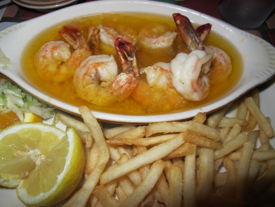 Show Low, AZ: Shimp Scampi with House Fries
