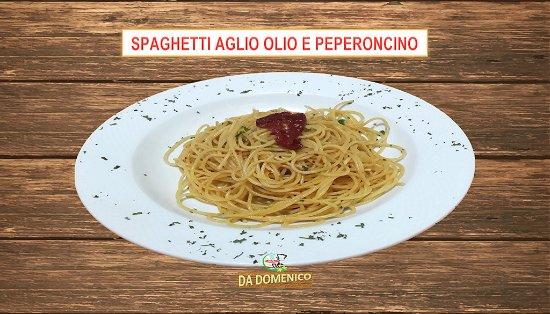 San Antonio De Belen, Costa Rica: Espaguetis ajo, aceite de oliva y chile picante