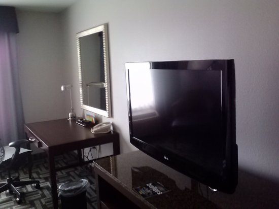 Hilton Garden Inn South Bend : TV and desk