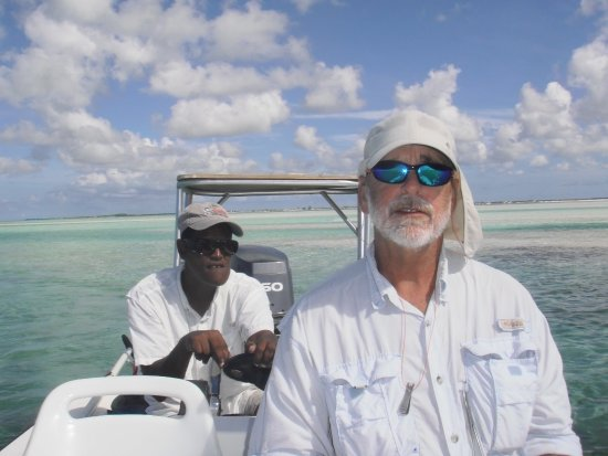 Acklins Island: our guide Jacob whom we fished for 5 days - awesome