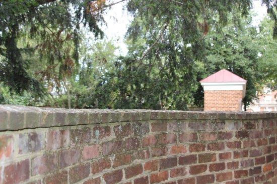 University of Virginia: old walls