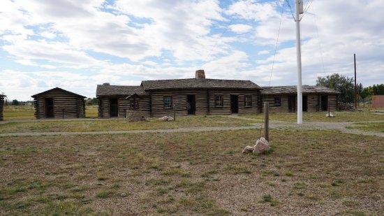 Fort Caspar Museum and Historic Site: Fort Buildings