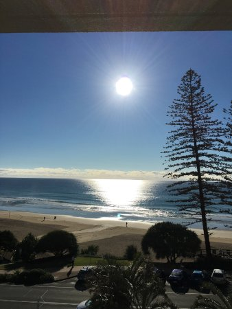 Coolum Beach, Australia: This is view from the fourth floor