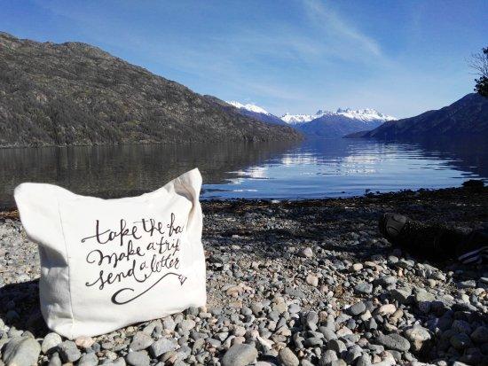 Lago Puelo, Arjantin: Esta imagen lo dice todo