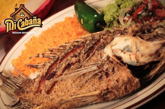 Τζάκσονβιλ, Βόρεια Καρολίνα: Mojarra Frita  - Mi Cabana Restaurant - Midway Park NC