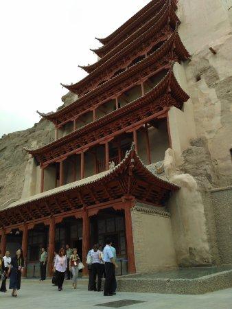 Dunhuang, Chine : Вид снаружи