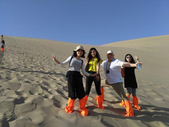 Dunhuang, Chine : С красавицвми