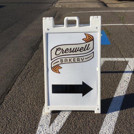 Creswell, OR: Another sign to look for...