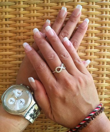 Natural Looking Gel Nails - Picture of The Nest Beachside Spa, Sanur ...