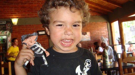 Puelo, Argentina: Con mi nietito, ideal para familias