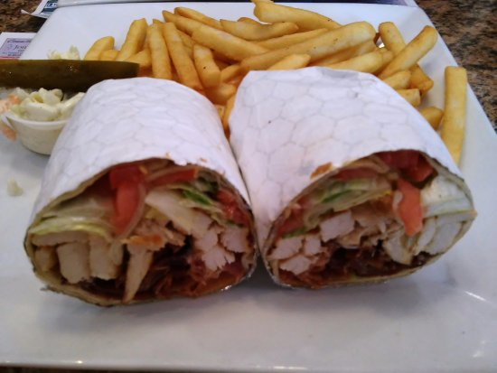 Florham Park, NJ: Chicken Bacon Wrap
