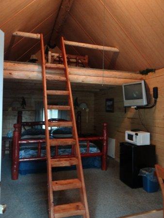 Alaska Creekside Cabins: from the front door