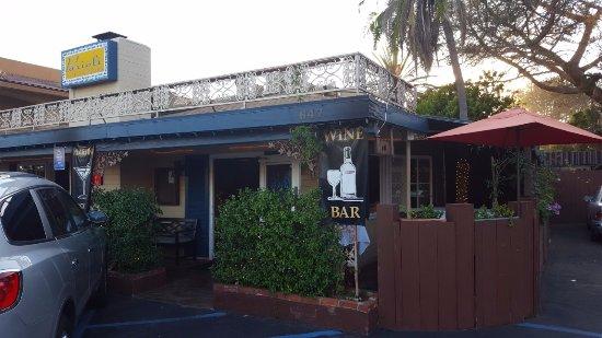 Solana Beach, Califórnia: Parioli Restaurant Entrance