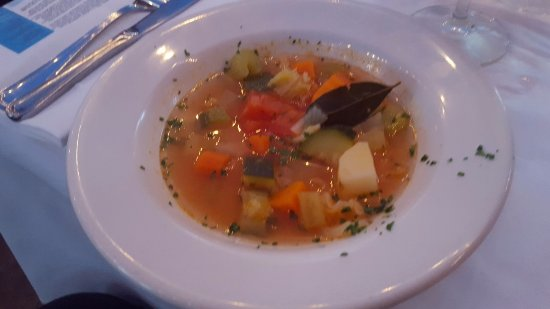 Solana Beach, Californien: Minestrone Soup