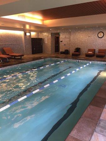 Hyatt At Olive 8: Impressive, heated pool
