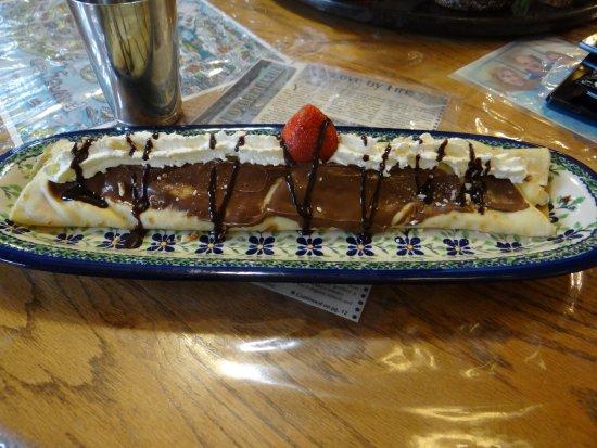 Le Barn Appetit Inn & Creperie: my crepe