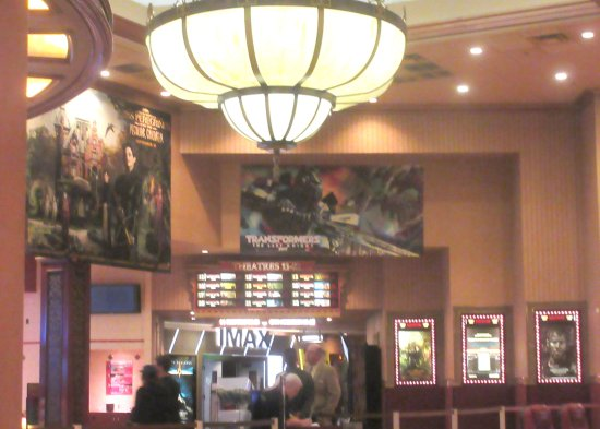Lobby, Cinemark 22, Lancaster, Ca