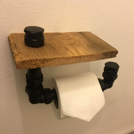 Casa Vitae: Up-cycled loo roll from pipe bits, really lovely, should sell them really