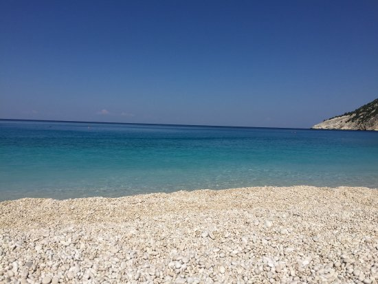 Myrtos Beach Photo