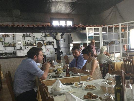 Alcochete, Portugal: Sala de refeições.