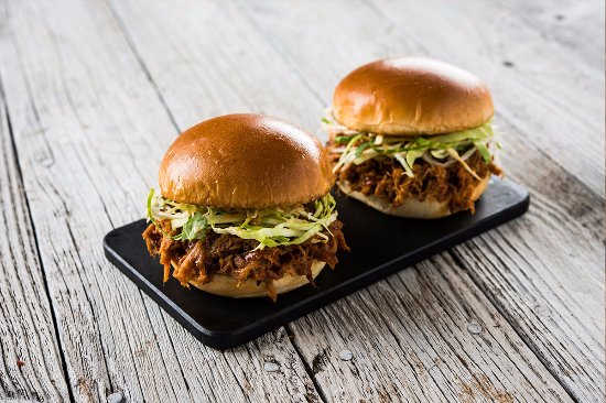 Hillsboro, OR: pulled pork sliders