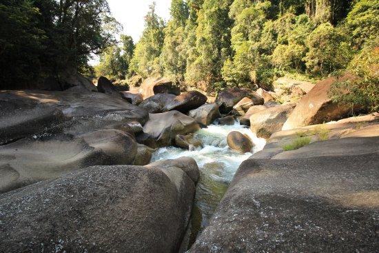 Babinda, Austrália: Looking back upstream