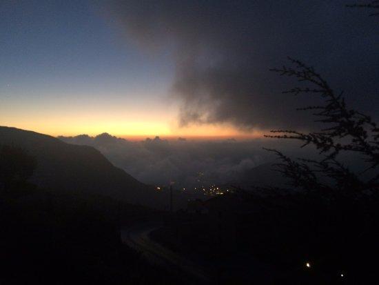 Kfardebian, Libanon: sunset