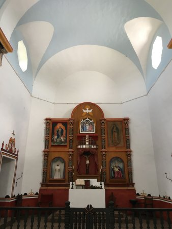 Goliad, TX: Church altar