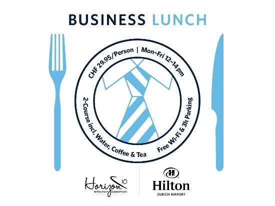Opfikon, Zwitserland: Business Lunch