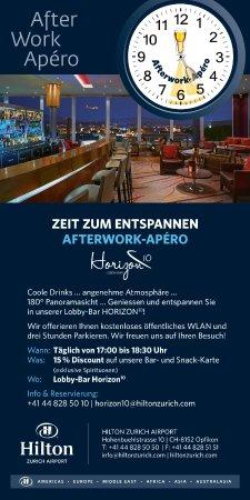 Opfikon, Zwitserland: Afterwork-Apéro