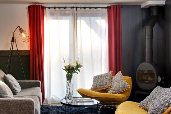 Les Gets, France : Coin salon Suite Exception