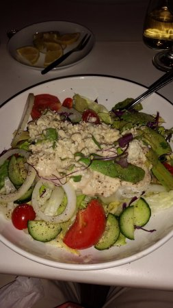 Fahrenheit: My Roquefort salad was just divine.