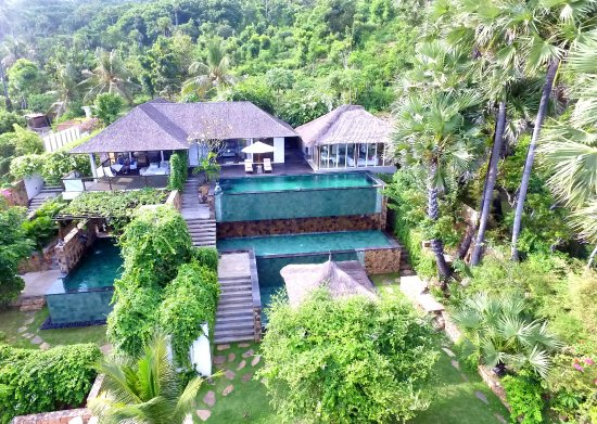 Seraya, Indonesia: View rom one of our villas