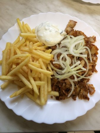 Bad Rodach, Deutschland: Hähnchenkebap für Kalorienbewusste