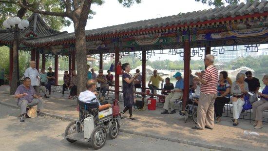Tianjin People's Park: Une autre forme de rencontre pour le chant !