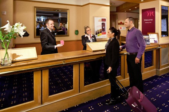 Mercure Ayr Hotel: Reception