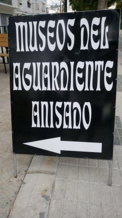 Rute, Hiszpania: museo del aguardiente anisado