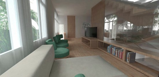 IBEROSTAR Grand Hotel Salome: Artist´s Impression of TV Room for Winter Season 2016/17
