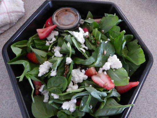 Leesburg, Βιρτζίνια: Spinach Salad