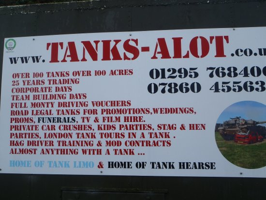 Helmdon, UK: Good description of what they do