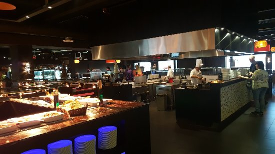 div kookeilanden - picture of restaurant wereld atlantis, gouda