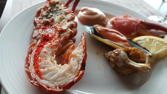 assorti met kreeft - picture of restaurant wereld atlantis, gouda