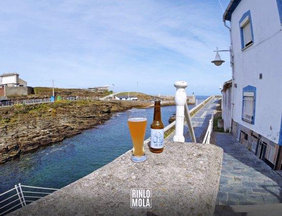 Salgadiña - La exclusiva cerveza de A Cofradía de Rinlo hecha con agua de mar