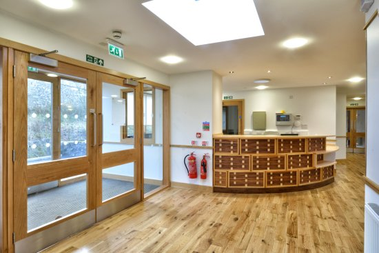 Eskdalemuir, UK: Reception and Foyer